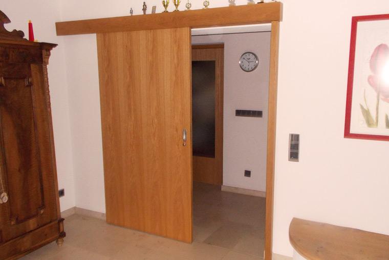 Wir verbauen fertige Türen - Wimmer Innenausbau